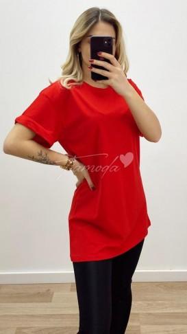 Oversize Tshirt - Kırmızı