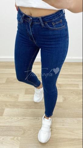 Yüksek Bel Skinny Jean - Lacıvert