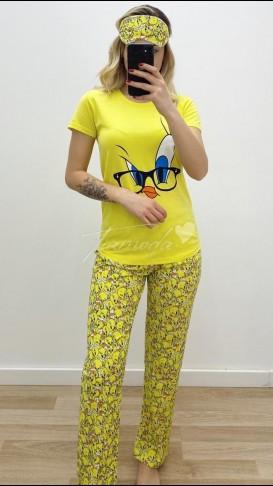 Tweety Pijama Takımı - Sarı