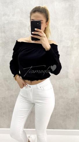 Madonna Yaka Bluz - Siyah