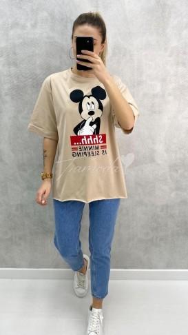 Minnie Tshirt - Bej