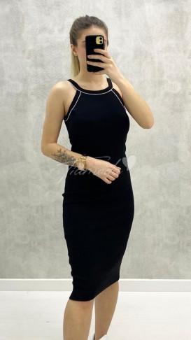 Halter Yaka Toparlayıcı Elbise