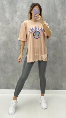 Miami Tshirt - Bej
