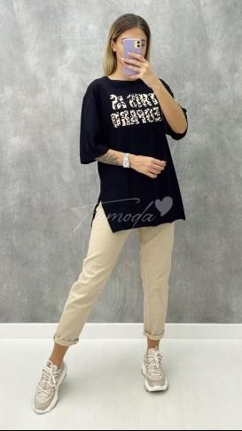 This is Leopar Tshirt - Siyah