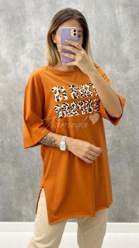 This is Leopar Tshirt - Taba