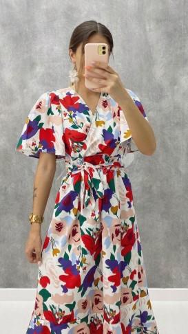 Anvelop Poplin Elbise