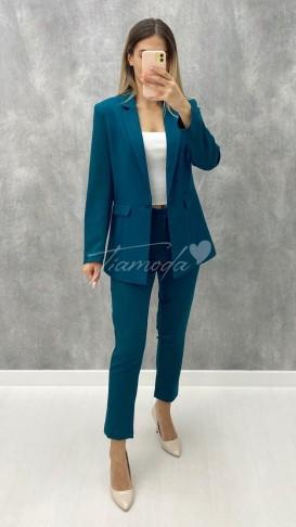 Ceket Pantolon Takım - Petrol Mavisi