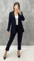 Ceket Pantolon Takım - Siyah