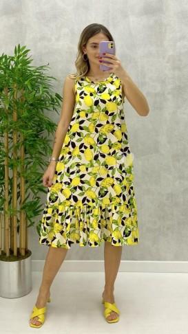 Limon Desen Elbise