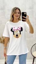 Mickey Tshirt - Beyaz