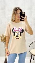 Mickey Tshirt - Bej