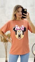 Mickey Tshirt - Pudra