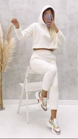 Peluş Takım - Beyaz