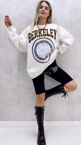 Berkeley Oversize Sweat - Beyaz