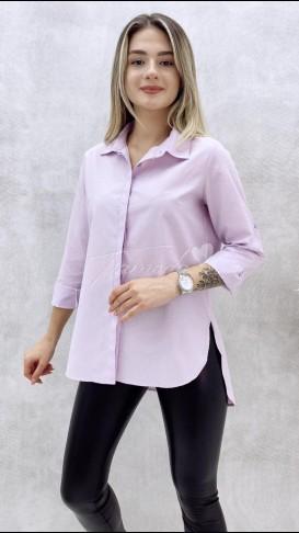 Basic Gömlek - Lila