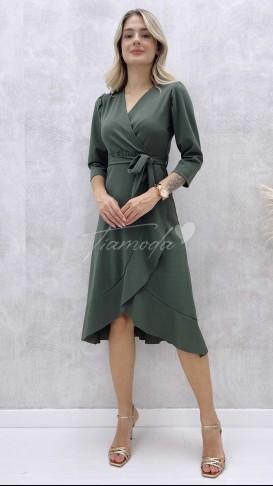 Haki Anvelop Elbise