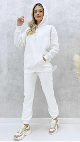 İçi Polar Takım - Beyaz
